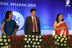 Vikas at Harbinger Group Annual Awards 2015