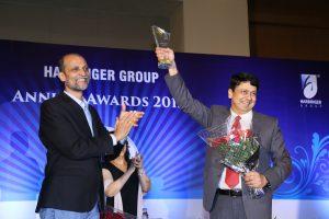 Vikas at Harbinger Group Annual Awards 2015