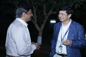 Vikas at Harbinger Group Alumni Networking Event