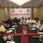 Dr Vikas Joshi addresses Rotary Club of Pune Riverside