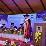 Dr Vikas Joshi addresses graduates of Kirloskar Institute for Advanced Management Studies (KIAMS) during their 20th convocation ceremony.