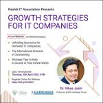 """Growth Strategies for IT Companies in the post-COVID world"", a Webinar by Dr Vikas Joshi for Nashik IT Association (NITA)"