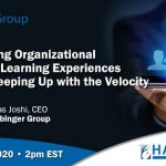"Opal Group Invites Dr Vikas Joshi to Deliver a Webinar on ""Transforming Organizational Content to Learning Experiences Rapidly – Keeping Up with the Velocity"""